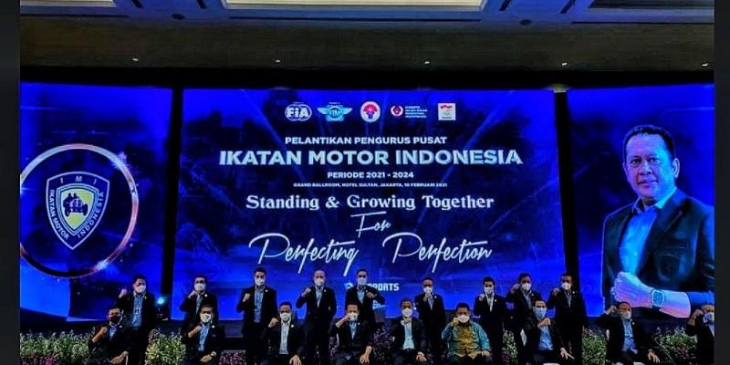 Bambang Soesatyo Resmi Dikukuhkan Sebagai Ketua IMI Pusat