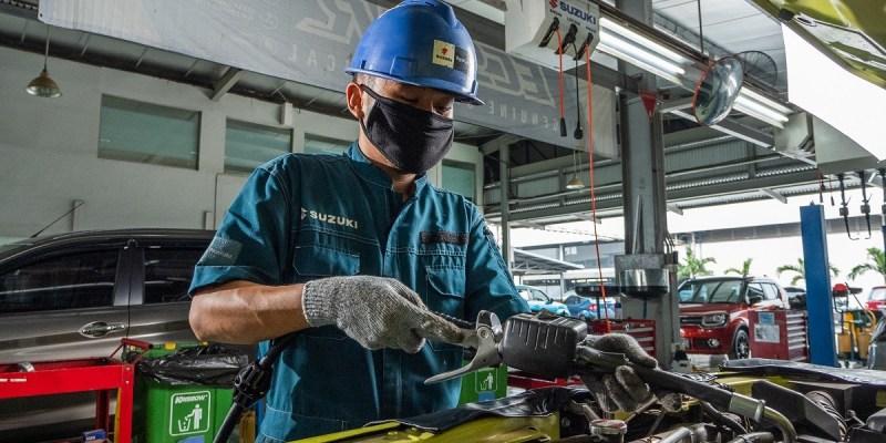 Dukung Uji Emisi, Suzuki Berikan Diskon Hingga Uji Gratis