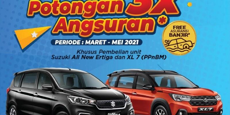 Selain Harga Turun, Suzuki Berikan Promo Angsuran Berkala Untuk Konsumennya