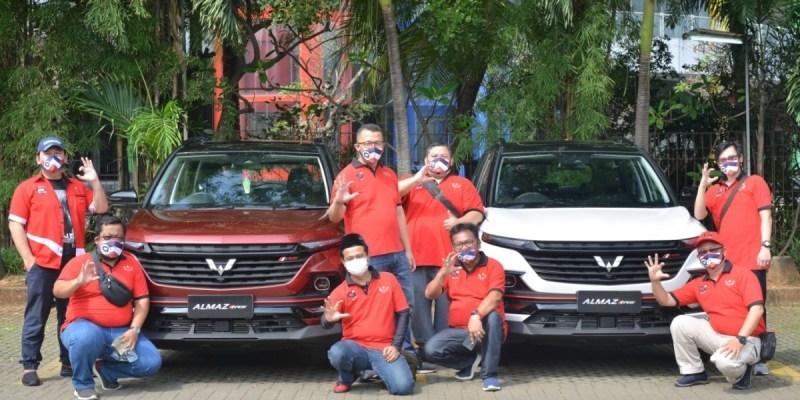 Wuling Motors Ajak Komunitas Rasakan Fitur Terbaru Almaz RS