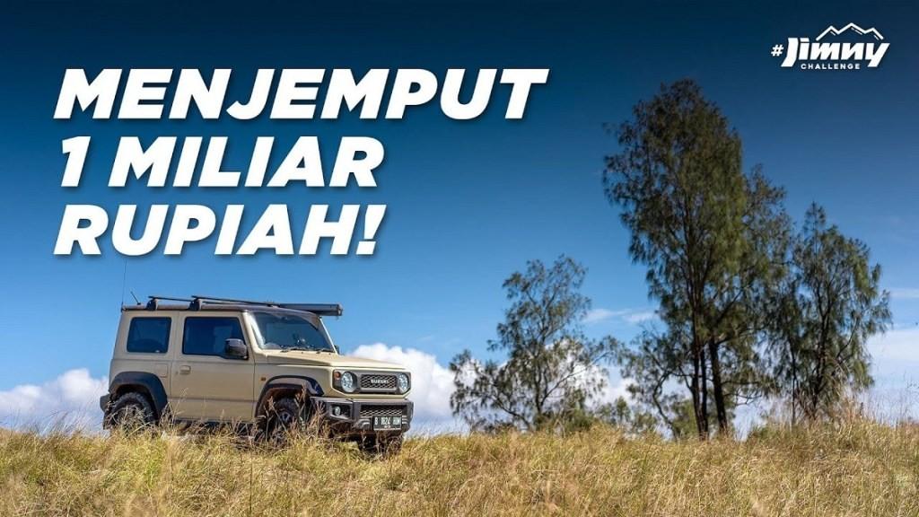 Sukses Besar, Jimny Challenge Cetak Rekor MURI
