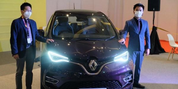 Renault Hadirkan Mobil Listrik 'Zoe' di IIMS Hybrid 2021
