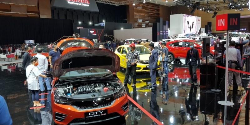 Honda Brio Satya Suguhkan Angka Penjualan Tertinggi Honda Di IIMS Hybrid 2021
