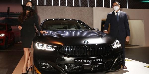 BMW 840i Gran Coupe Golden Thunder Edition Hadir di IIMS Hybrid