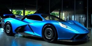 Estra Fulminea, Mobil Listrik Hyper Asal Italia
