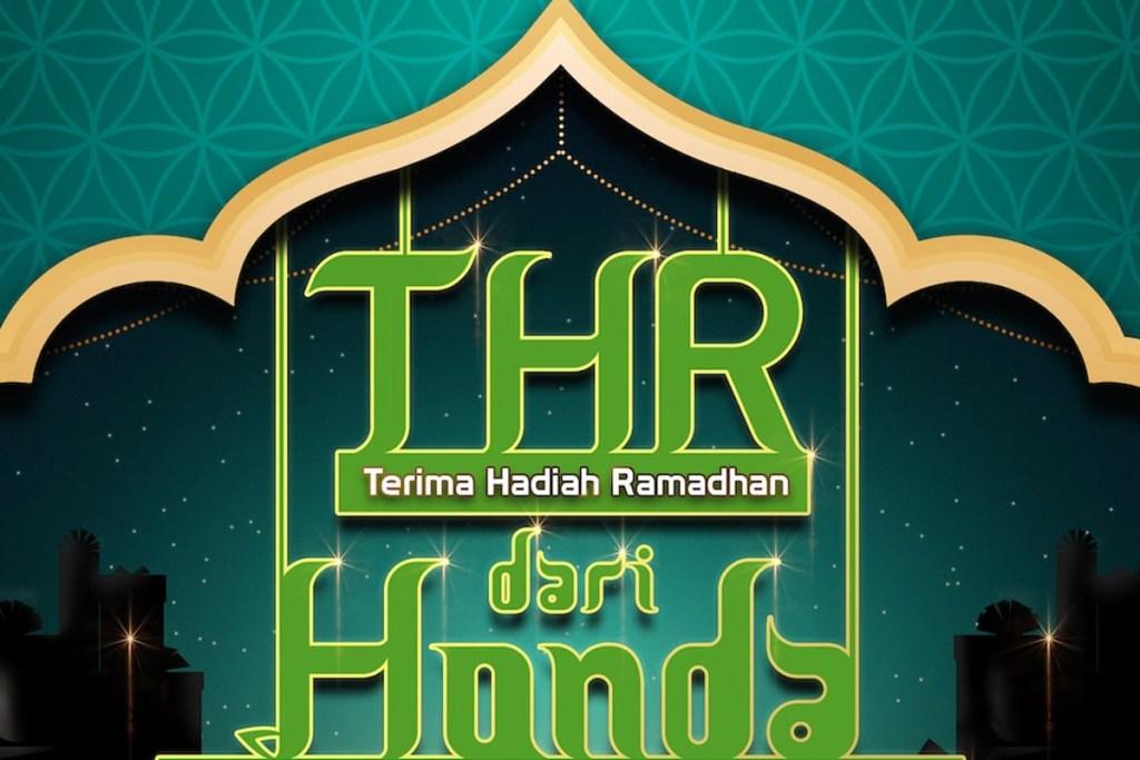 Sambut Lebaran 2021, HPM Gelar Progam 'THR Dari Honda'