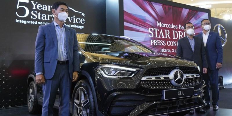 Dua Produk Baru Rakitan Lokal Meluncur di Mercedes-Benz Star Drive