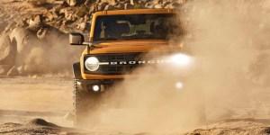 Masuk Jalur Produksi, Ini Spesifikasi dan Harga Ford Bronco 2021