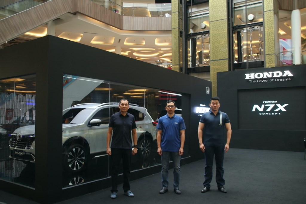 Honda Pamerkan N7X Concept Di Bandung
