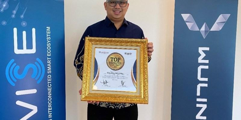 Fitur Cerdas WISE Wuling Almaz RS, Raih Penghargaan TOP Innovation Choice Award 2021