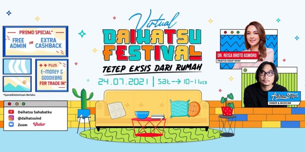 Virtual Daihatsu Festival, Mudahkan Konsumen Untuk Memiliki Mobil Baru Daihatsu