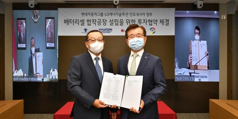 Hyundai Motor Group dan LG Energy Solution Siap Bangun Pabrik Sel Baterai EV Di Indonesia