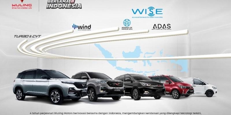 Perjalanan 4 Tahun Wuling Di Indonesia, Sukses Hadirkan Ragam Inovasi Produknya