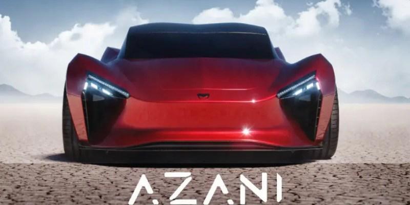 MMM Azani, Supercar Listrik Dengan Tenaga 1.000HP