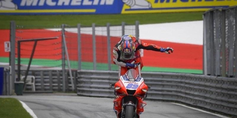 MotoGP Austria, Jorge Martin Incar Kemenangan Kedua