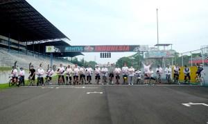 'MB W211 CI Gowesunday Ride', WOTR Sekaligus Olahraga