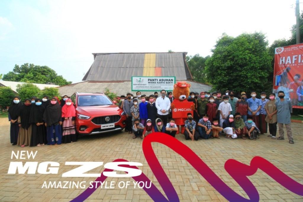 Berbagi Kebahagiaan Bersama MG Indonesia