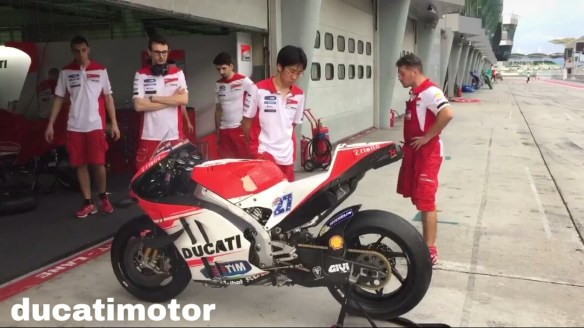 Ducati GP15 Casey Stoner