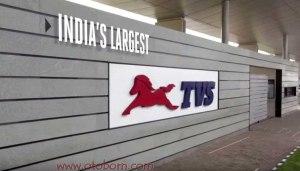 tvs india largest otoborn