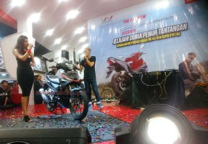 regional public launching new supra gtr150 prj