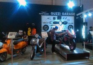 Booth Moto Guzzi Garage