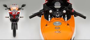 Honda CBR 250R Single Repsol signature marc