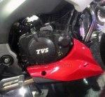 TVS Apache RTR200 touring kanan undercowl