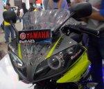 Yamaha R15 cargloss headlamp angeleyes