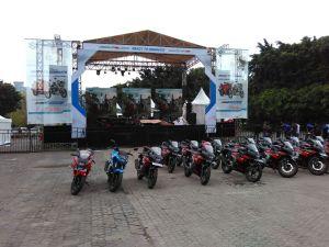 Launch GSX 150 Surabaya 1