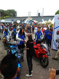 Launch GSX 150 Surabaya 2