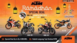 KTM Kasih Harga Spesial Ramadhan di PRJ Jakarta Fair 2018 Kepoin Nih Bray