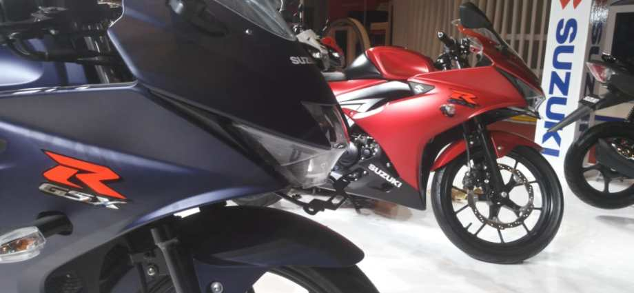 GSXR150 Special Edition Mejeng di GIIAS Mulai Besok