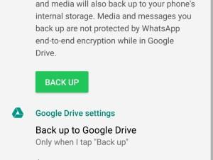 Mulai November 2018 Backup WhatsApp Ngga Makan Kuota Google Drive