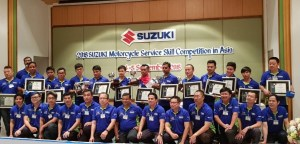 Mekanik Suzuki Indonesia Terbaik Se-Asia