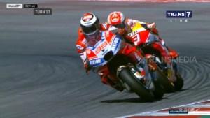Akhirnya Ducati Juara MisanoGP Ditangan Dovizioso Lorenzo Terduduk Lemas