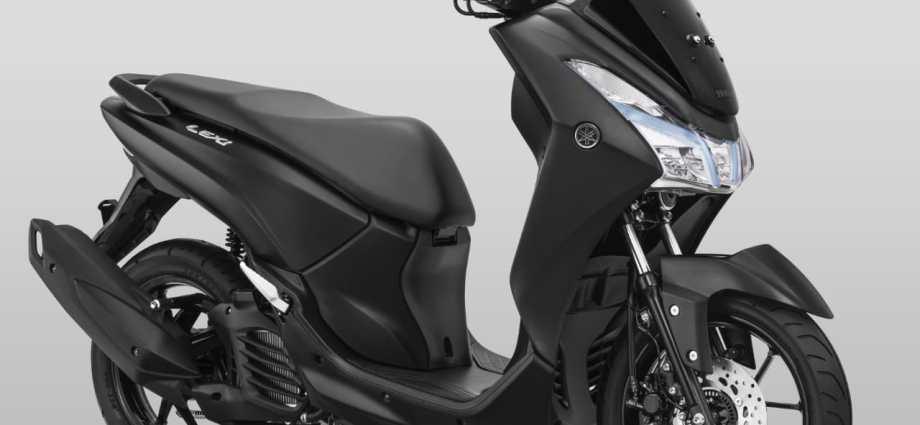 Yamaha Lexi 125 Matte Black alias Hitam Legam Harga 20 Jutaan