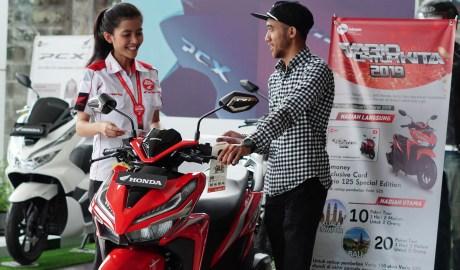Honda Di Jawa Barat Mengadakan Trade In Motor dan Memberikan Hadiah Undian