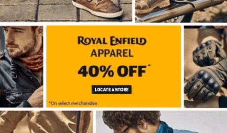 Gear dan Apparel Royal Enfield End Of Season Sale 40% Off di Store Seluruh Dunia