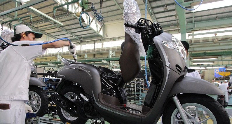 New Honda Scoopy 2019 Warna Baru