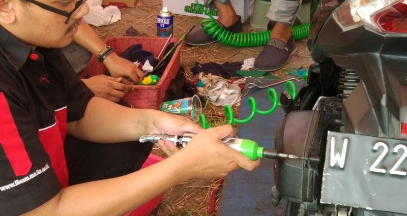 Tekiro ITS Servis Gratis di Surabaya