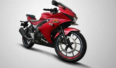 Suzuki GSX-R150SpecialEdition Matt Red Summer