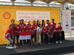 Shell Eco-Marathon Asia 2019 ITS Team 5 Berhak Maju ke Grand Final Drivers' World Championship