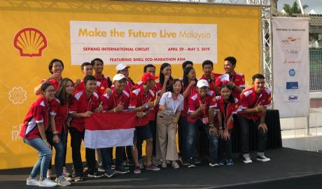 Shell Eco-Marathon Asia 2019 ITS Team 5 Berhak Maju ke Grand Final Drivers' World Championship