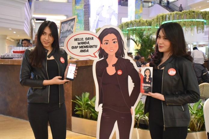 Wanda Wanita Pelayan Virtual Asik Menjaring Konsumen Honda