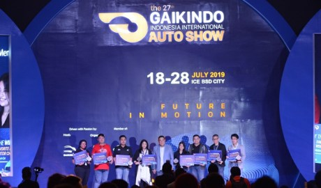 Pengumuman Penghargaan GIIAS Wuling Almaz Paling Banyak Di Test Drive