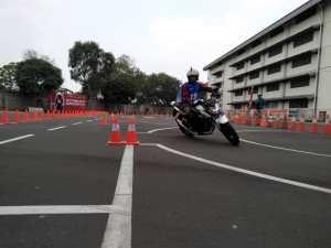 Gymkhana Safety Riding Wahana