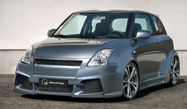 20 Konsep Modifikasi Suzuki Swift Terbaru