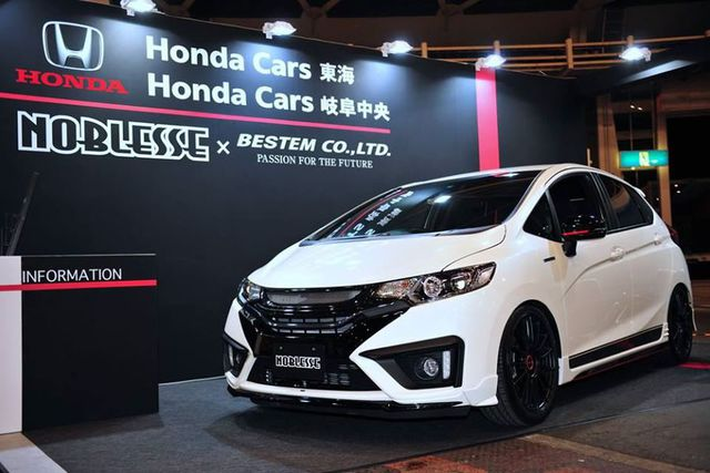 20 Modifikasi Honda All New Jazz GK5 Terbaru