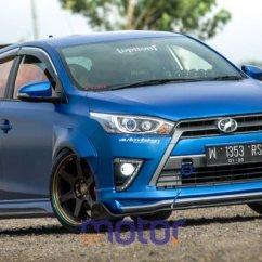 Modifikasi All New Yaris Trd Sportivo Double Din Grand Veloz 21 Toyota Gen 2 Xp150 Terbaru Otodrift