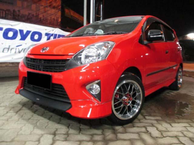 30 Modifikasi Toyota Agya Tipe TRD S G E